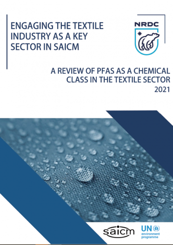 Engaging the textiles industry as a key sector in SAICM: a review of PFAS as a chemical class in the textile sector